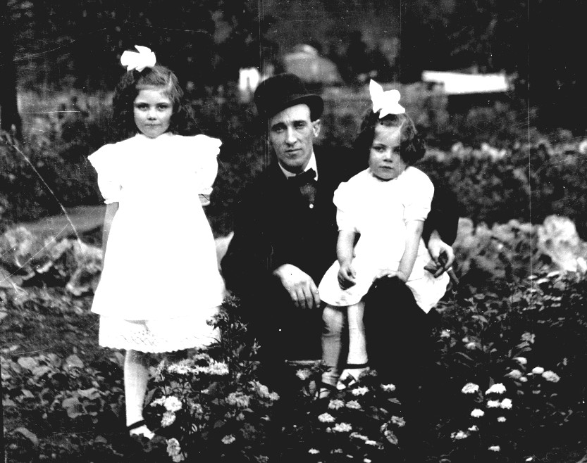 Relative with Helen and Beatrice