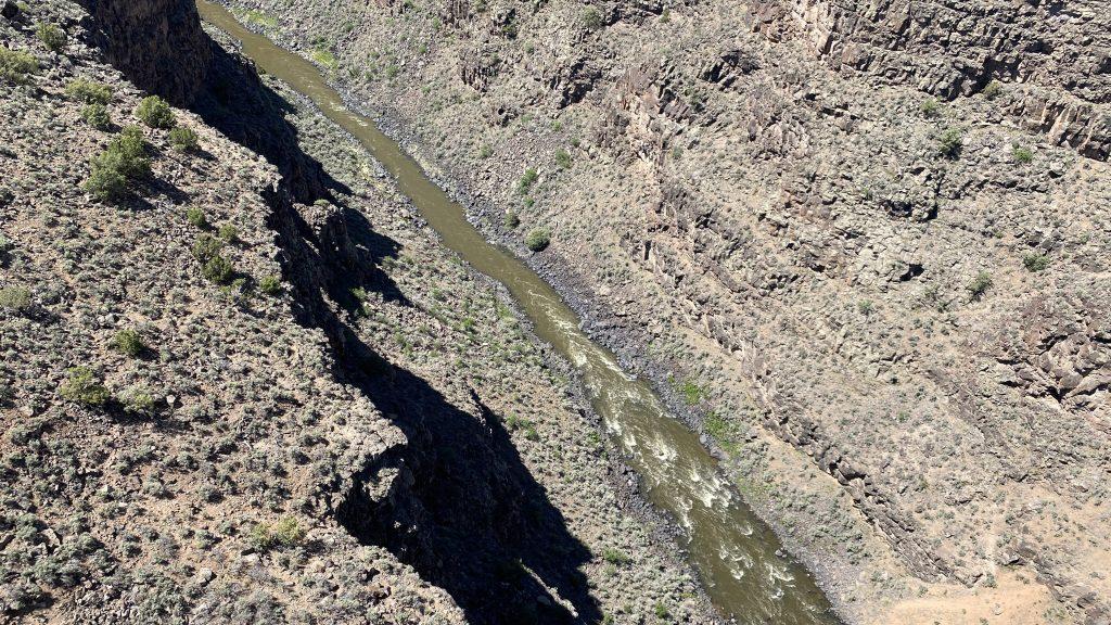 Rio Grande Runs Below