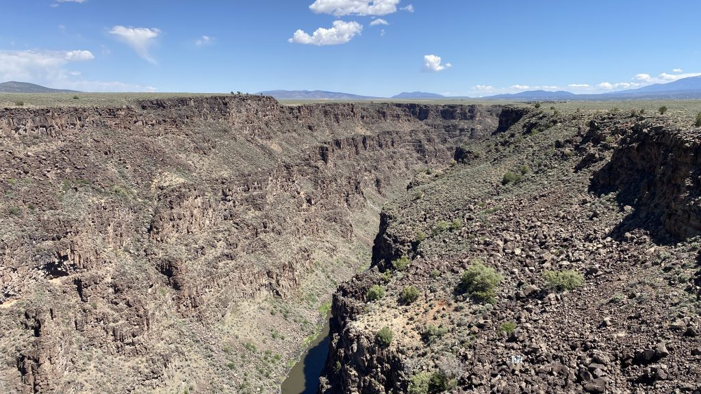 View from the Gorge Bridge