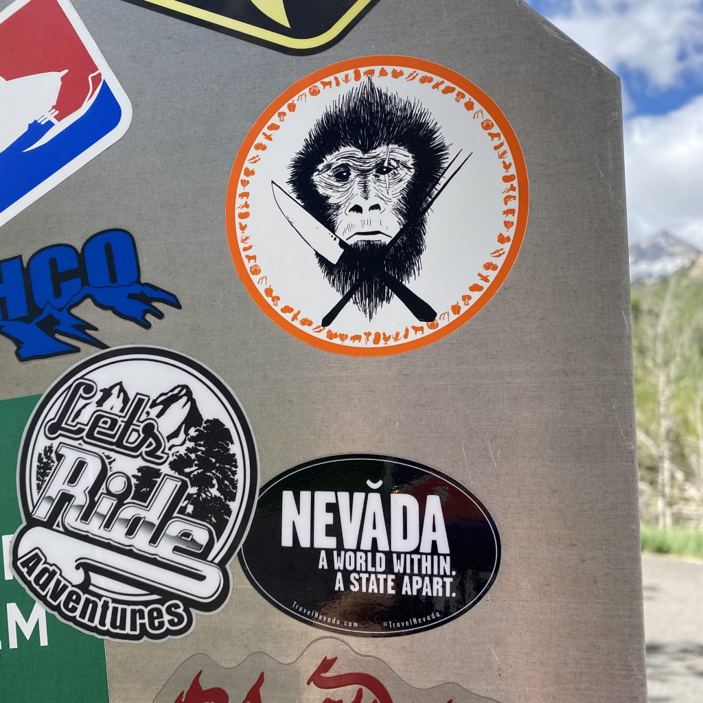 Stickers from Other Visitors